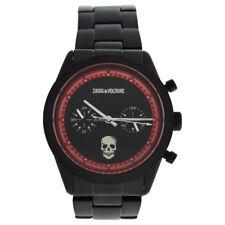 Zadig & Voltaire ZVM123 Master - Black Stainless Steel Bracelet Watch 1 Pc