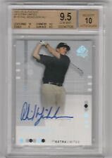 2002 SP AUTHENTIC EXTRA LIMITED GOLD PHIL MICKELSON AUTO RC BGS 9.5 W/ 10 #/25