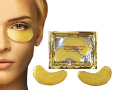 Crystal Collagen Gold Gel Powder Eye Mask Anti Aging Anti Wrinkle Bio Pad