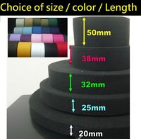 20 25 32 38 50mm Spun Polyester Webbing -DIY/Replacement Cotton Canvas Bag/belt