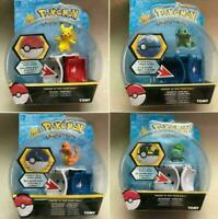 Pokemon GO UK Pikachu Throw 'N' Pop Poke Ball Action Figures Doll Kids Toys Gift