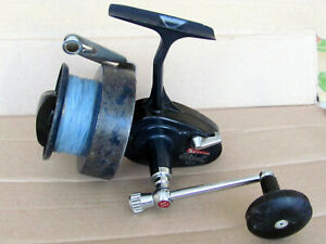 Rare! moulinet Mitchell 498 ancien, mer fiable, robuste surf casting à galet BE