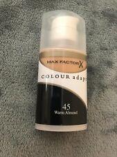 Max Factor Colour Adapt Foundation shade 45 Warm Almond