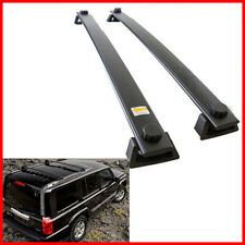 For 06-10 Jeep Commander Roof Rack Cross Bars Bolt-On OEM Factory Style OE