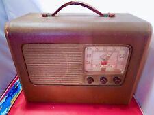 New ListingRca Victor Vintage Portable Radio Model 25Bp, Serial # 038738