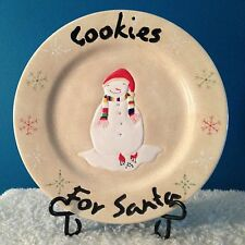 "Oneida ""Cookies for Santa"" 12""  Platter   Discontinued Pattern 2009-2011"