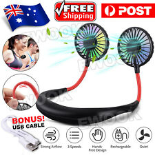 Sports Fan Hanging USB Charging Travel Creative Neck Lazy Tool Portable NEW