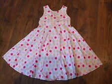 w Size age 6 tigerlily polka dot spotty girls dress party sleeveless Kids Summer
