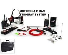 RACING ELECTRONICS STINGRAY 2-MAN 2-WAY RACING DRIVER CREW SYSTEM MOTOROLA RE840