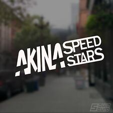 Akina Speed Stars Vinyl Decal Sticker Initial D AE86 Drift Anime JDM
