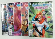 Harley Quinn and Power Girl #2-6 (5 comics) near complete run set lot missing #1