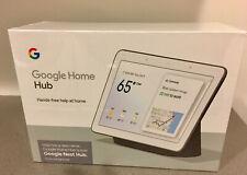 Google Nest Hub with Google Assistant (Ga00515-Us) -Chalk