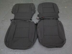 2015 2016 2017 2018 Chevy Tahoe Suburban OEM cloth seat cover set Black