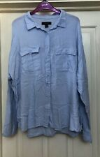 Atmosphere Blue Soft Blouse Top, Size 20 - Lovely!