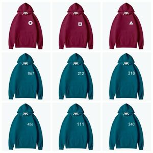 Squid Game Park Hae-Soo The Same Style Adult Hooded Sweater Coat Children's Wear