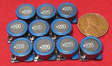 10 pcs TDK SLF Inductor 22uH 3.5A Ferrite Core Wire Wound 20% SLF12565T-220M3R5