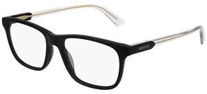 Gucci GG0490O Black Crystal 53/17/150 men Eyewear Frame