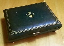 ROLEX Vintage Watch Box VERY RARE 1950's Submariner GMT 6536 6538 5508 6542 OEM