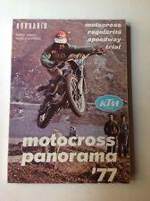 MOTORI MOTOCICLETTE - MOTOCROSS PANORAMA ANNUARIO 1977