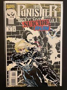 Punisher War Journal Suicide Run 62 High Grade Marvel Comic Book D29-159