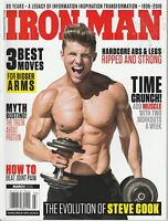 MARCH 2016 IRON MAN vintage body building magazine STEVE COOK