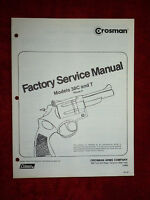 Crosman 38C & 38T (Phase II)  Factory Service Manual +Exploded View & Parts List