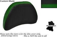 BLACK & DARK GREEN CUSTOM FITS HONDA GOLDWING GL1500 88-00 DRIVER BACKREST COVER