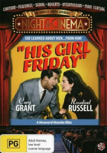 His Girl Friday DVD BRAND NEW SEALED 💥💥