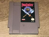 Final Fantasy Nintendo Nes Cleaned & Tested Battery Saves Authentic