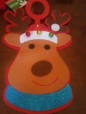 Reindeer Door Hangs Christmas upc 639277579164