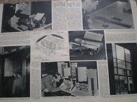 Photo article Nottingham City police new burgalar alarm system 1947
