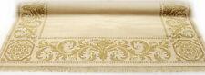 Mäander Teppich Beige 160x230cm K-Seide Maeander Medusa Rug Carpet versac
