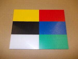 """12 mm HDPE sheet 100 mm (3.93"""") x 100 mm (3.93"""") engineering-wear strips-etc"""