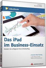 video2brain Das iPad im Business-Einsatz - 7 Stunden Video-Training auf DVD, NEU