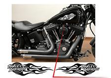 adesivi harley davidson moto serbatoio coppia destro e sinistro pvc stikers da e