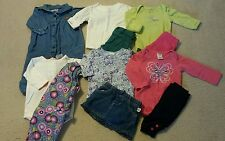 Baby Girl Size 0-3 Months Mixed Fall & Winter Clothing Lot