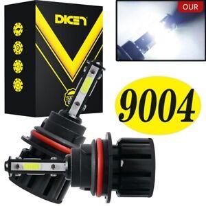 2PCS 9004 HB1 LED Headlight 4-Sided Bulbs High+Low Beam 120W 6000K 300% Brighter
