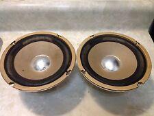 Vintage of one pair 6 1/2'' Full frequency  speakers