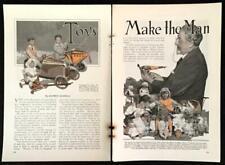 Ferdinand Strauss 1929 TOY pictorial Keystone Truck-Dismal Desmond-Pedal Cars