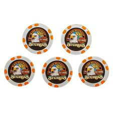 2020 Harley-Davidson® Black Hills Group 80th Rally Pack of 5 Poker Chips