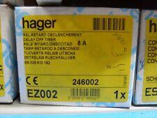 HAGER EZ002 DELAY OFF TIMER RELAY 8A EZN002