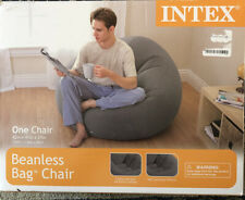 Intex Beanless Bag Inflatable Chair - Beige