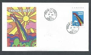 2020 Canada Post Thanks-Merci to Employees Picture Stamp FDC with CDS Cancel