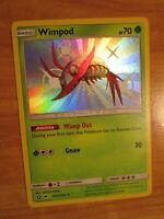 NM Pokemon Shiny WIMPOD Card HIDDEN FATES Set SV4/SV94 Sun and Moon Holo Rare