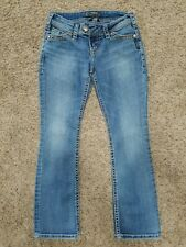 """SILVER Tuesday 16 1/2"""" womens jeans - size 2P - 25 x 26 - Petite"""