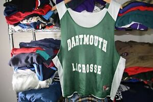 Dartmouth Lacrosse Lax Team Issue Jersey Reversible Nike #4