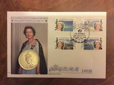 5 x PNC Numismatic First Day Cover 1990-92 FDC ROYAL SET COIN £2 1 CROWN Queen