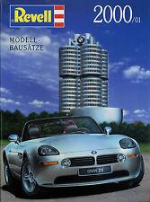 Katalog Revell Modell-Bausätze Kits 2000 Flugzeuge Autos Formel 1 Hubschrauber