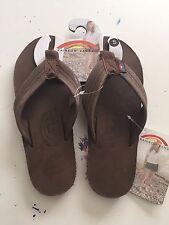 Rainbow Sandals Womens eXpresso Single Layer Leather Flip Flops Premier Free SH
