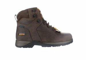 Ariat Mens Edge Lte Brown Work & Safety Boots Size 8.5 (2E) (2223554)